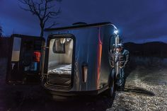 Take to the great outdoors with this adorable Airstream camper | The Verge