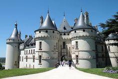 Château de Chaumont, Loir-et-Cher, France.