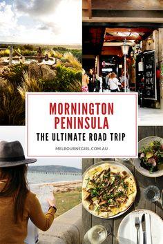 Experience Victoria's Mornington Peninsula in style with team Melbourne Girl. Melbourne Markets, Melbourne Girl, Melbourne Cafe, Melbourne Travel, Western Australia, Australia Travel, Road Trip Hacks, Victoria Australia, Travel Plan