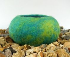 Felting Tutorial how to make a wet felted pod