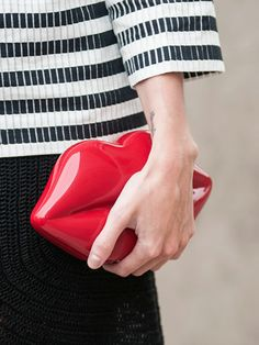 Bonjour, Paris: Lulu Guinness bag