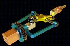 Spherical Joints Transmission Mechanism | 3D CAD Model Library | GrabCAD