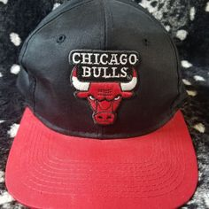 411daa1f98d Dm with any questions This is a vintage 90s Chicago Bulls snapback in  excellent condition and. Depop