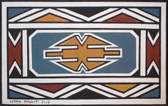 Fine Art by leading South African and International Contemporary Artists African Design, African Art, African Style, Mural Art, Wall Art, Art Therapy Projects, Loom Patterns, Art Classroom, Loom Beading