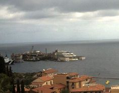 Costa Concordia  to refloat on 14 July webcam