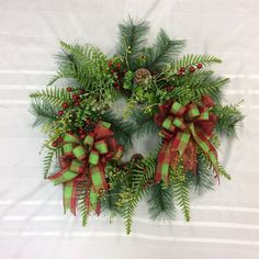 Most current Screen holiday Wreath for Front Door Concepts Any front front door wreath positions the actual concluding touches over a home. A new wreath dangli Christmas Wreaths For Front Door, Holiday Wreaths, Door Wreaths, Holiday Decor, Sunflower Arrangements, Artificial Flower Arrangements, Vine Wreath, Twig Wreath, Etsy Wreaths