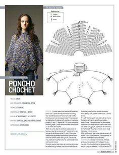 847 Besten Poncho Bilder Auf Pinterest Shawl Crochet Clothes Und