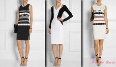 Dresses for Dramatic Classic (Kibbe). Typ urody Dramatic Classic – Miss Elegancji