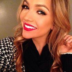 Her makeup looks super good