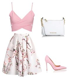 """""""Untitled #1898"""" by ncmilliebear ❤ liked on Polyvore featuring Gianvito Rossi, Michael Kors, women's clothing, women, female, woman, misses and juniors"""
