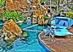 Grand Wailea Water Elevator. The only one in the world! http://ordinarytraveler.com/articles/grand-wailea-maui