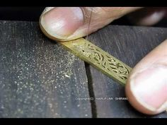 Jewelry Making openwork 18k-gold ring 5/9. Faits à la main bague en or 18 carats - YouTube