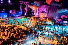 Party in a thermal bath of Budapest