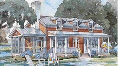 Our Best Beach House Plans for Cottage Lovers: Tidewater Cottage, Plan #1420