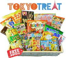 Win Tokyo Treat box with all kinds of goodies in it from Tokyo! There will be 20 winners and each one will get a free box.