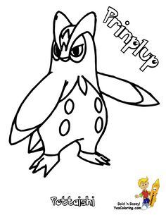 Pokemon Empoleon Coloring Pages Through The Thousand Photos On Internet With Regards To We All Selects Very Best