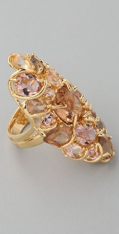 Alexis Bittar Flora Gem Encrusted Ring