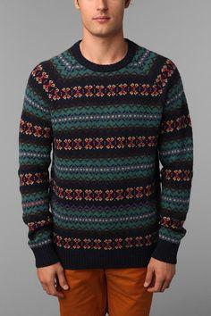 O'Hanlon Mills Fair Isle Crew Sweater  #UrbanOutfitters
