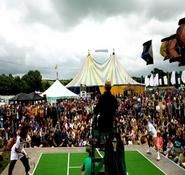 Comedy street theatre show for hire- tennis themed.