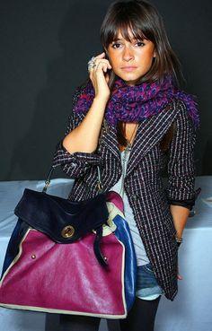 Miroslava Duma: YSL Muse Two Handbags