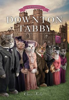 Downton Tabby No joke someone left this at our after school program a few weeks ago. It's hilarious!