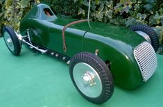 1948 ME Models 2 stroke 6 cc Tether Car chassis No, 1474 body No.40 1 of 25 left #MEModels