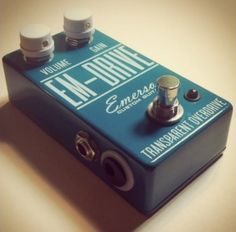 EM-Drive Transparent Overdrive:       Handwired, Handbuilt in Broken Arrow, Oklahoma USA using some of the finest quality