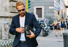 StreetStyle from Milan Jun. 2014