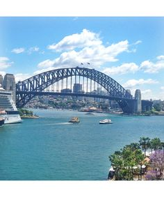 Dustin Hoffman's wife, Lisa Hoffman, shares pictures of her recent trip to Australia, where she visited Bondi Beach, Manly wharf and Sydney Harbor. Pictured: A visit to Sydney Harbour is an absolute must to complete any trip down under.