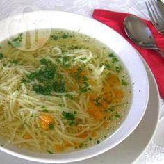 Soupe de poulet à la polonaise