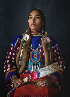 Native American women with beautiful facial features. Native American women with beautiful facial features.