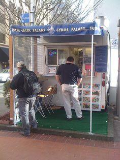 Aybla Grill - Mediterranean Food Cart, Portland Oregon