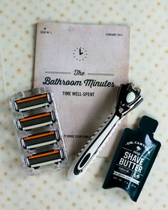 Dollar Shave Club - great gift for the men on your Christmas list!