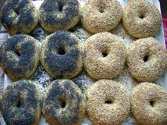 Seeded bagels. Photo credit: the freshloaf.com.