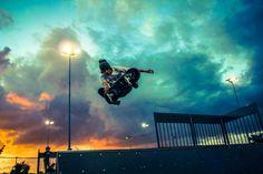 #Skate #skateboard #skateboarding #sky #clouds #canon #photography