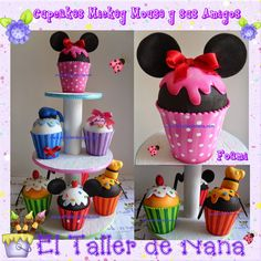 ... Eva) on Pinterest | Cupcake, Mickey mouse and Mickey mouse and friends