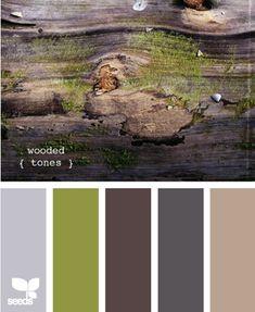 wooded tones design seeds