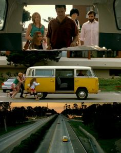 Little Miss Sunshine. I mostly just love the way the original poster collaged this. Cinema Movies, Movie Theater, Movie Tv, Film Books, Book Tv, Movies Showing, Movies And Tv Shows, Ventura Beach, Unknown Pleasures