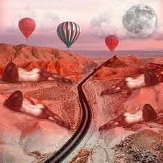 ••~{Sweet dreams}~•• #digitalcollage#collage#collageart#nüdes#keepitsexy#goodnight#roaring3030#femaleform#desert#roadtrip#hotairballoon#femme#moonlight#lost#highway#vicariousliving#imakewhatiwant#ganjagal#thefutureisfeminine#surrealism