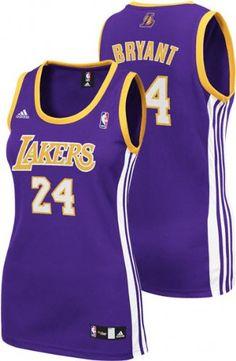 Kobe Bryant Purple adidas Revolution 30 Replica Los Angeles Lakers Women s  Jersey Lakers Team 3ce90f993