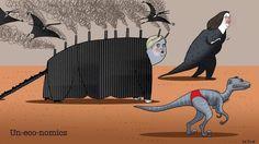 Australian un-eco-nomics. Illustration: Simon Letch.