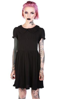 Raine Baby Doll Dress #disturbiaclothing disturbia metal alien goth occult grunge alternative punk