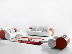 Ultra Modern Italian Leather Sofa Set -- You can find out more details at the link of the image.
