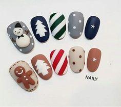 - Best ideas for decoration and makeup - Halloween Acrylic Nails, Cute Christmas Nails, Xmas Nails, Best Acrylic Nails, Christmas Nail Art, Holiday Nails, Santa Nails, Kawaii Nails, Dream Nails