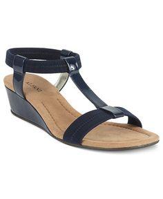 50193b0256c3 Alfani Women s Voyage Wedge Sandals Wedge Shoes