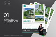 Real Estate Flyer - 01 Templates Sleek Real Estate Flyer Template by **Slidewerk**, suitable for Real Estate Agent project.Very easy by Slidewerk Powerpoint Poster Template, Powerpoint 2010, Keynote Template, Real Estate Templates, Real Estate Flyer Template, Flyer Design Templates, Flyer Maker, Real Estate Flyers, Flyer Layout