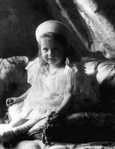 Grand Duchess Anastasia Nikolaevna of Russia, 1904.