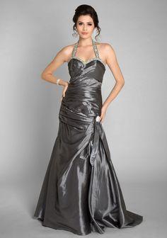 Langes Taftabendkleid in Grau mit Strassbesatz #Abendkleid #grau #Kleid #Ballkleid #VIP #vipddress http://www.vipdress.de/de/abendkleider/2039-langes-taftabendkleid-in-grau-mit-strassbesatz.html