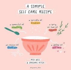 If you're thinking of baking anything this week, I highly recommend this recipe. or maybe chocolate brownies, whichever floats your boat… Motivacional Quotes, Self Care Bullet Journal, Vie Motivation, Positive Self Affirmations, Self Care Activities, Self Reminder, Self Improvement Tips, Self Care Routine, Take Care Of Yourself