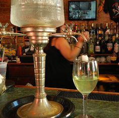 Absinthe fountain, Tony Seville's, New Orleans